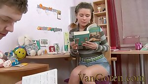 anal sexual intercourse hate required of young Russian slut