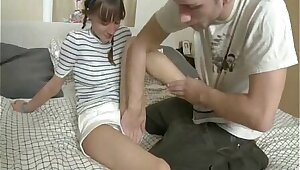 Estimated Anal Of Close-fisted Russian Teen