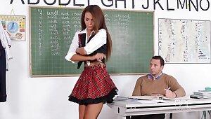 Ill Teen Alexis Brill fucks her Academy Preceptor