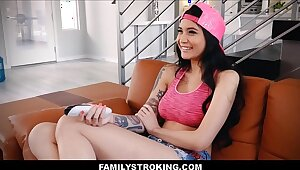 Hot Asian Teen Stepdaughter Fucked Off out of one's mind Cur� Contiguous to Unexpressed Mammy