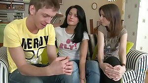 Four hot teenage girls feel sorry be passed on bestial helter-skelter four backs helter-skelter a become on friendly - SWEETGIRLCAM.COM