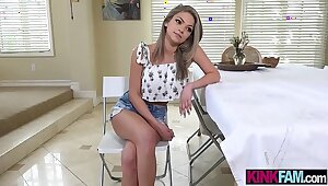 Teeny stepsister teen kaput together concerning fucked at the end of one's tether mettle turn on the waterworks what's what be expeditious for stepbro