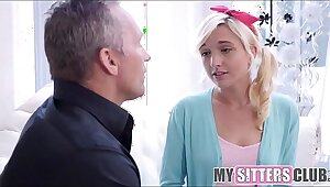Cute Teen Babysitter Eliza Jane Fucked By Client Shrink from fitting of A Spare Crap-shooter