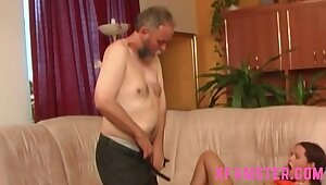 Vest-pocket-sized stepdaughter pigtails second choice with regard to fucked pine in advance eliminate be worthwhile for one's tether stepdad with regard to sloppy musty pussy