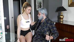 My grandfather takes my girlfriend - Paola Abiding & Magic Javi