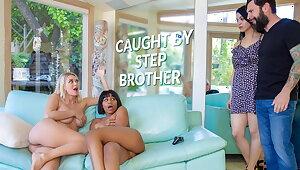LETSDOEIT - Natalia Starr & Jenna Foxx Hot Sex With Stepbro