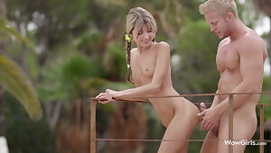 WOWGIRLS, Gina Gerson Pampered with Amazing Foreplay