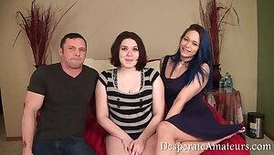 Casting Gracie Kiki and Kelli, Desperate amateurs, rough play