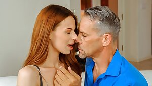 DADDY4K. Sex with BF's dad is stunning